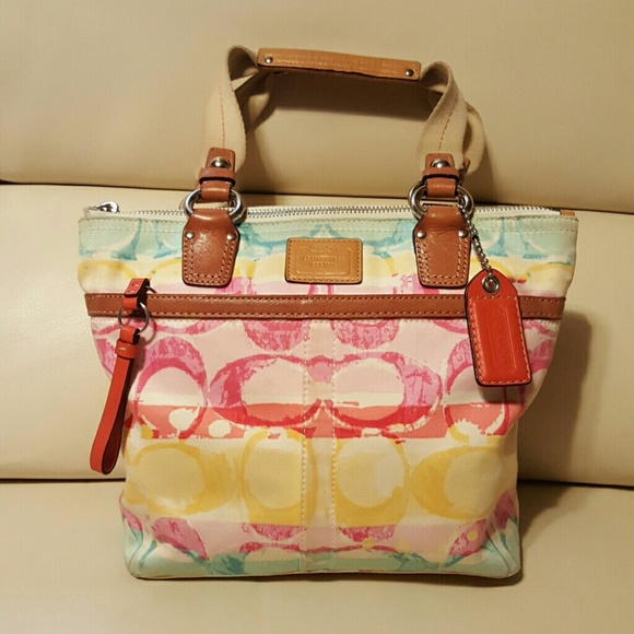 2e650ef1fe0 Coach Watercolor Purse at GetDrawings.com   Free for personal use ...