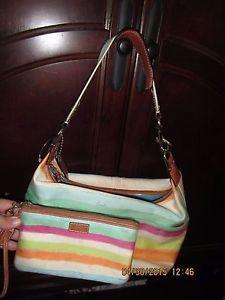 225x300 Coach A0885 F11678 Watercolor Purse Shoulder Handbag +nautical