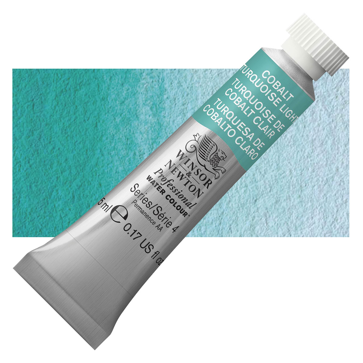 Cobalt Turquoise Watercolor
