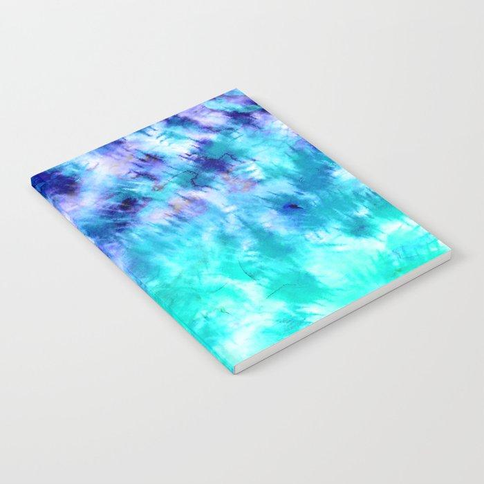 700x700 Modern Boho Blue Turquoise Watercolor Mermaid Tie Dye Pattern
