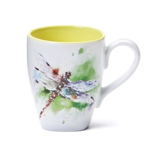 500x500 Dean Crouser Coffee Mug Dragonfly Big Sky Carvers Multi Color
