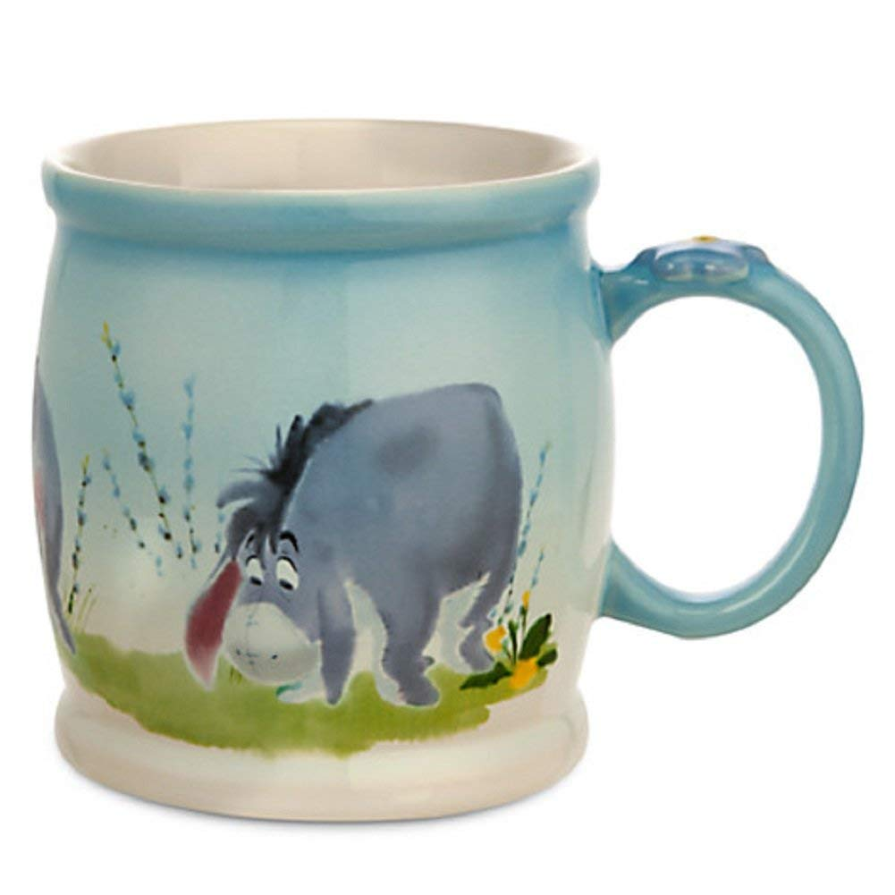 1001x1001 Disney Store Eeyore Watercolor Coffee Mug Cup