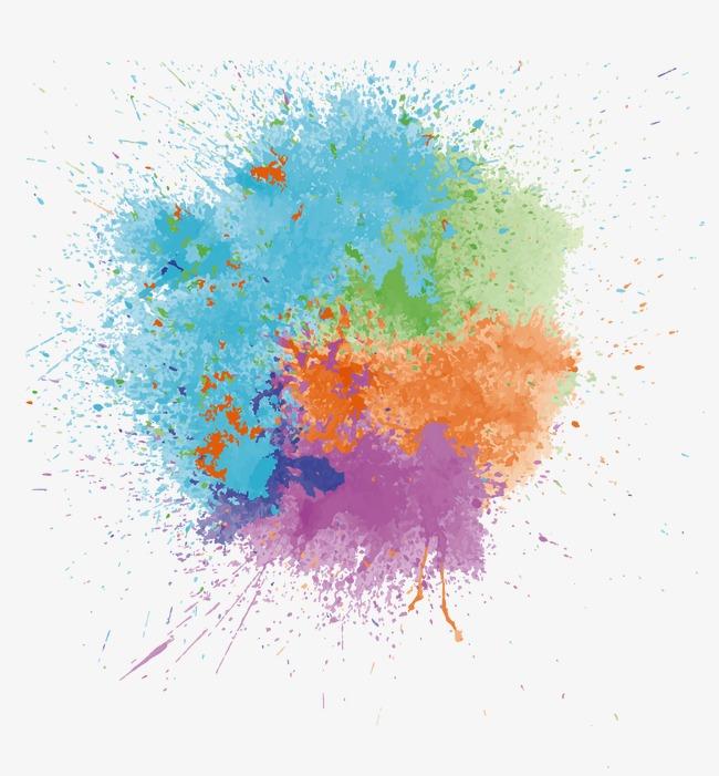 650x701 Inkjet Effect, Color, Splash, Ink Jet Png And Vector For Free Download