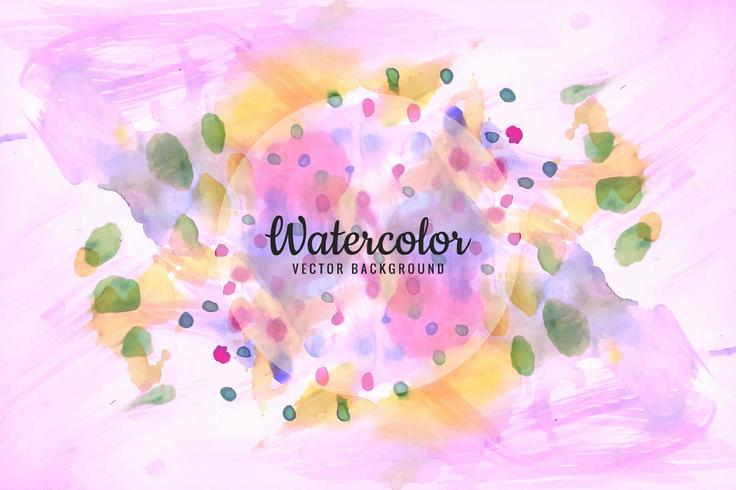 736x490 Modern Colorful Watercolor Background