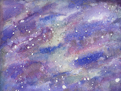 Constellation Watercolor