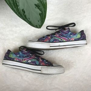 300x300 Converse Shoes Watercolor Sneakers Youths Size 2 Poshmark