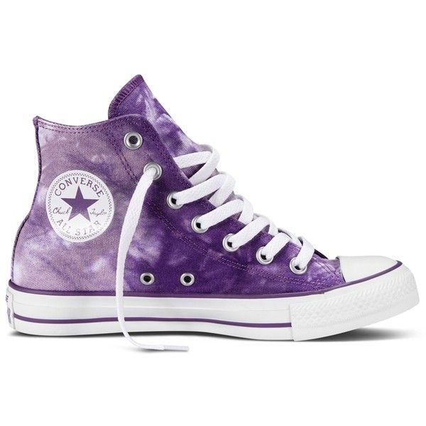 600x600 Pruple Watercolor Converse Liked On Polyvore Featuring Converse