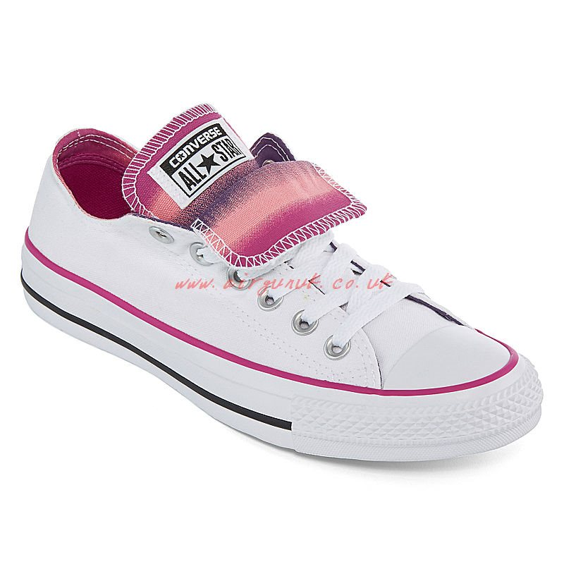 800x800 Trainers White Pink Converse Chuck Taylor All Star Watercolor