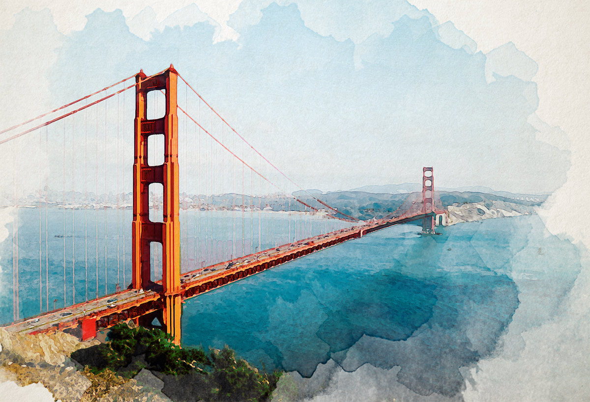 1200x819 How To Create A Watercolor Painting Effect In Photoshop
