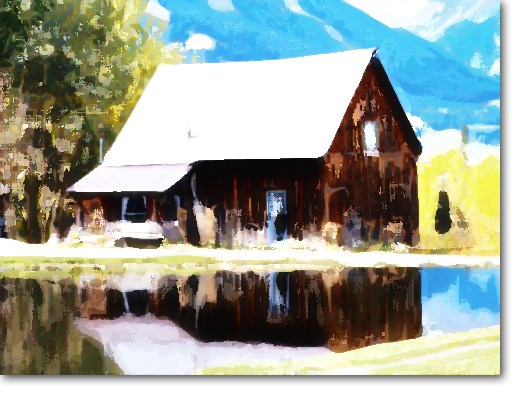 520x395 Convert Photo Into Realistic Watercolor Painting