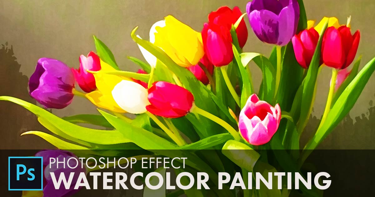 1200x630 How To Create A Watercolor Painting Effect In Photoshop