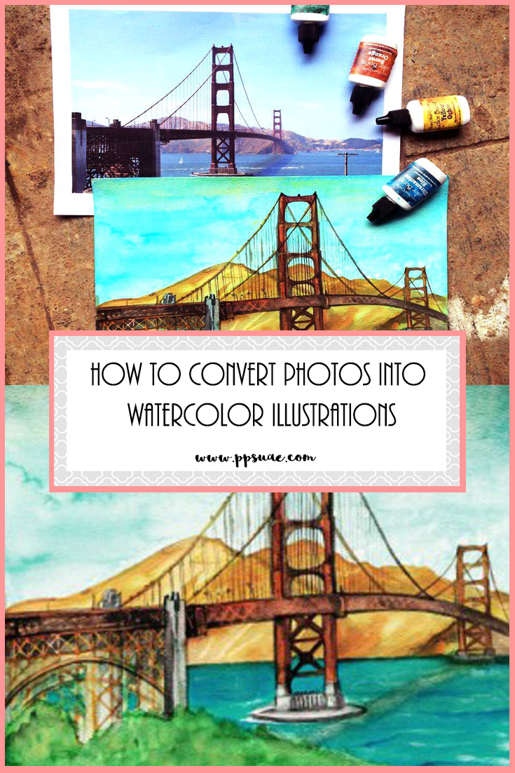 735x1102 Convert Photos Into Watercolor Illustrationsvideo Tutorial