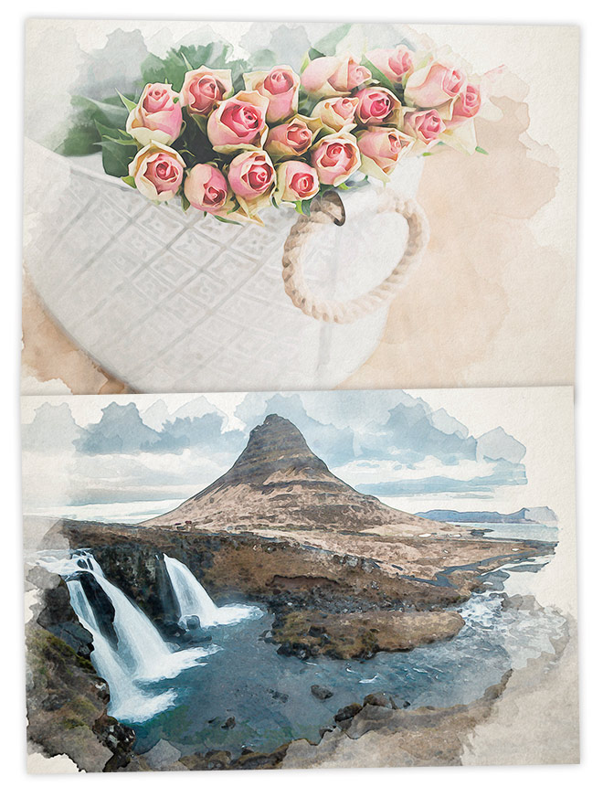 660x872 How To Create A Watercolor Painting Effect In Photoshop