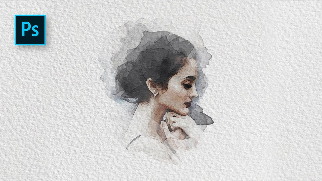 1280x720 How To Create A Watercolor Painting Effect With Photoshop