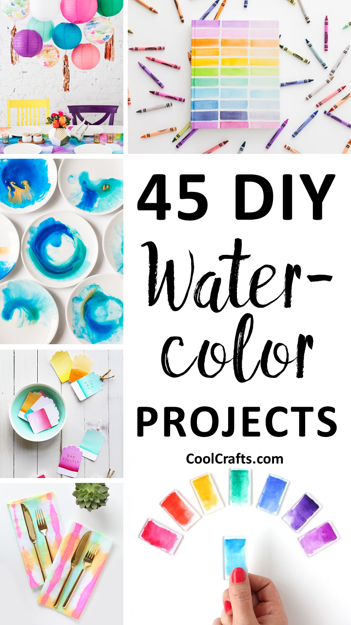 720x1280 45 Diy Watercolor Projects Ideas You Can Try With Your Kids Cool
