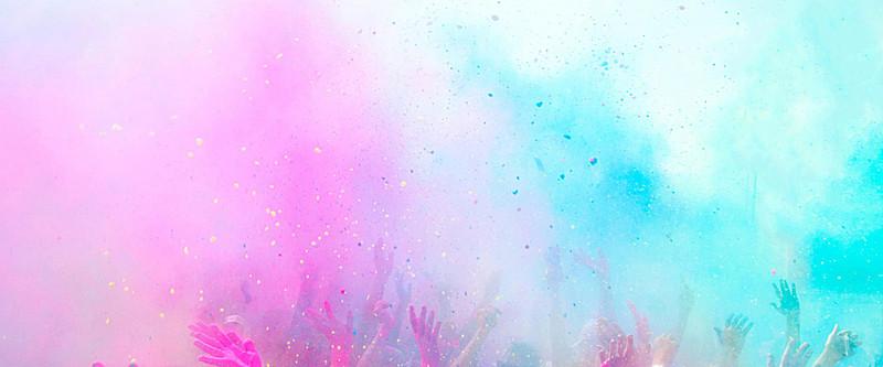 800x333 Powder Purple Watercolor Background, Purple, Literature And Art