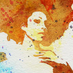 250x250 Create A Watercolor Effect In Photoshop