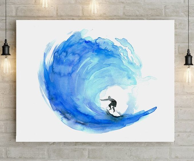 678x563 Easy Watercolor Painting Ideas For Kids Easy Watercolor