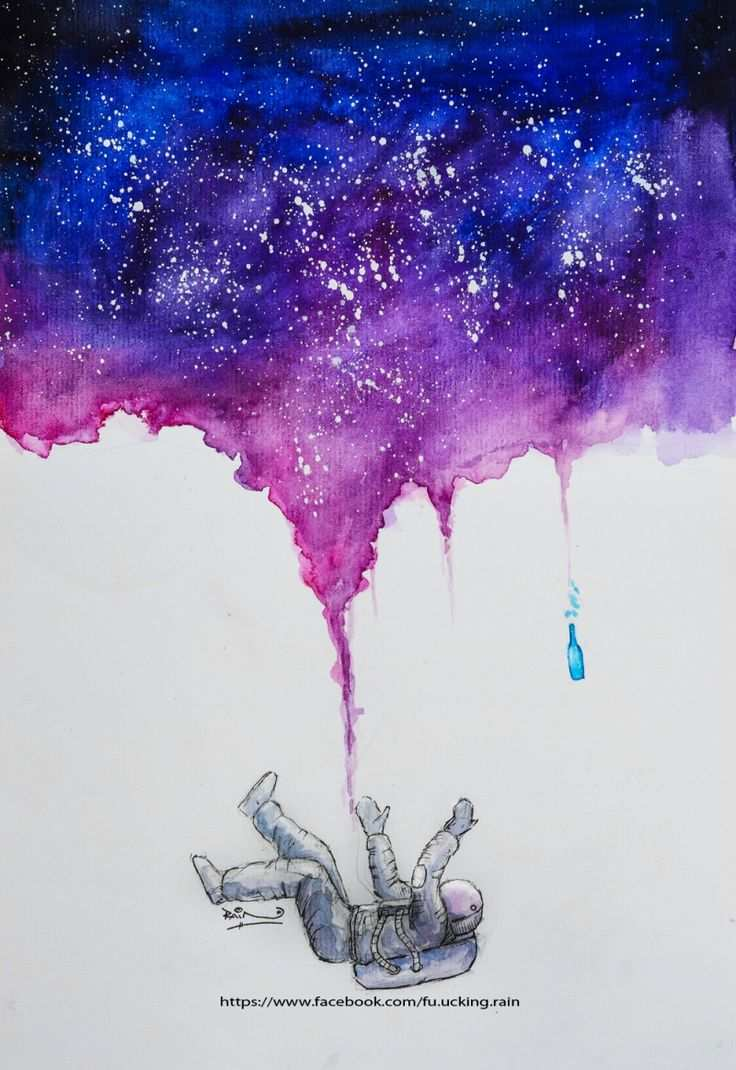 736x1070 Cool Watercolor Painting Ideas New Best 25 Galaxy Art Ideas On
