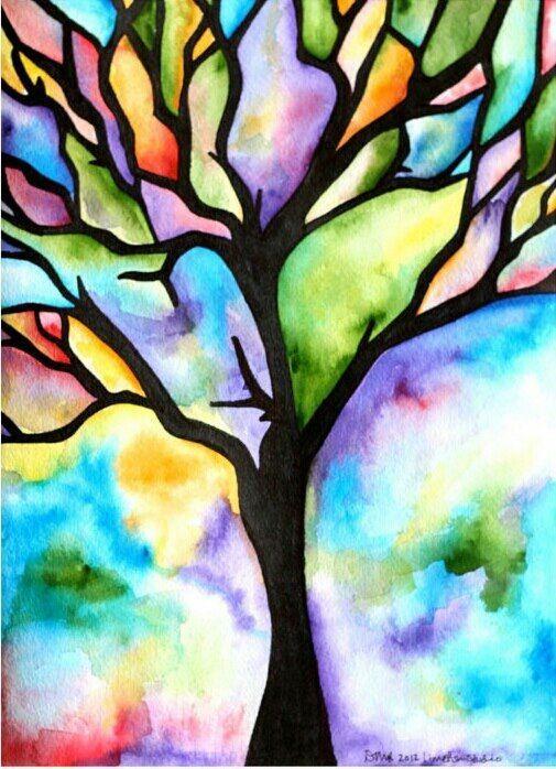 505x698 Resultado De Imagen De Cool Watercolor Painting Ideas For