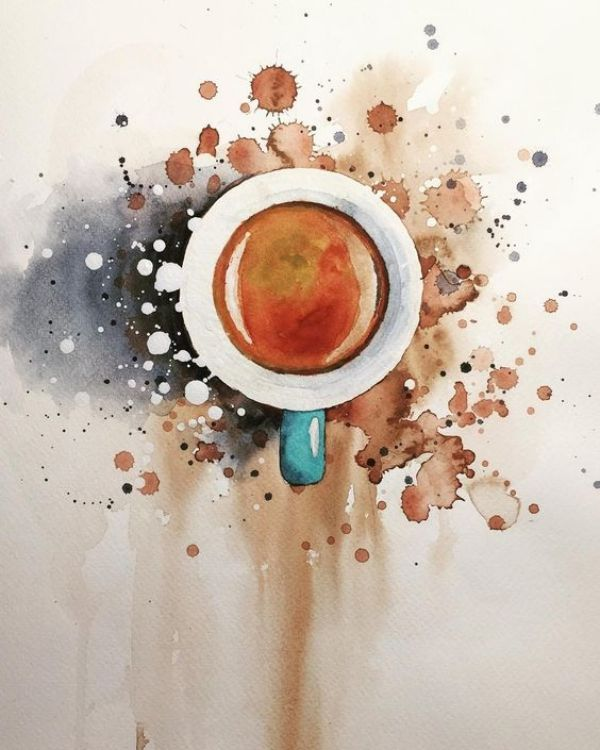 600x750 100 Easy Watercolor Painting Ideas For Beginners Artwork