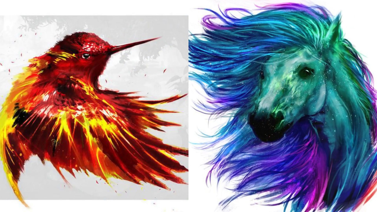 1280x720 Water Color Painting Ideas Amazing Painting With