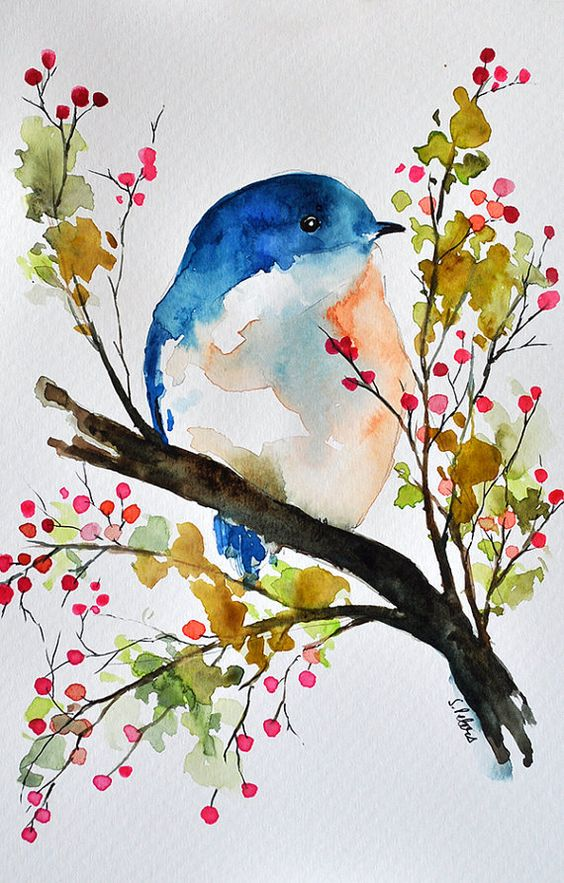 564x883 19 Incredibly Beautiful Watercolor Painting Ideas