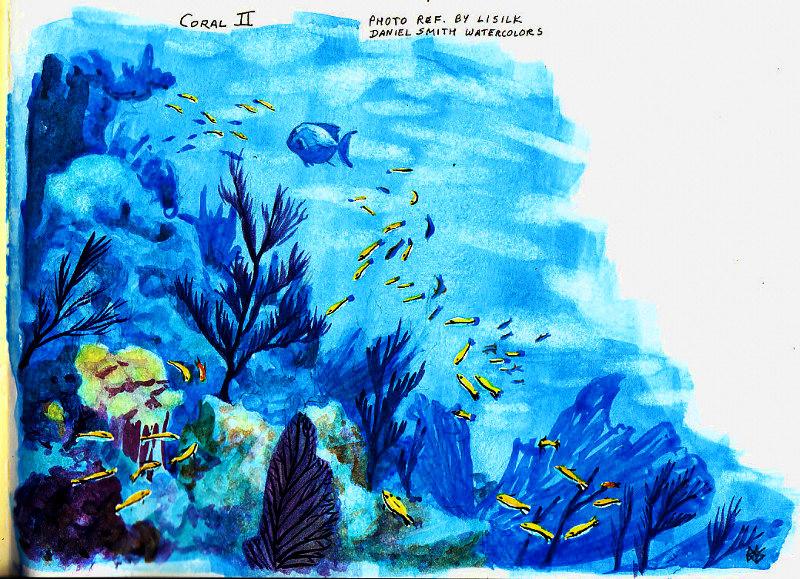 800x579 Water Folio One (Moleskine A4 Watercolor Folio)