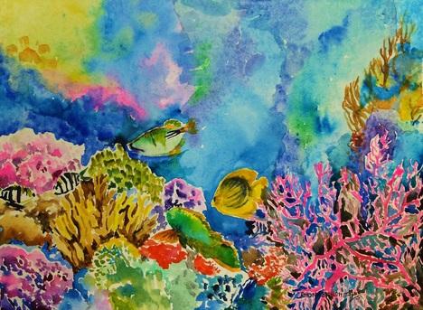 468x343 Watercolour Paintings