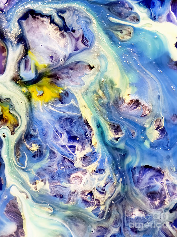675x900 Coral Reef Abstract Watercolor Painting Painting By Justyna Jbjart