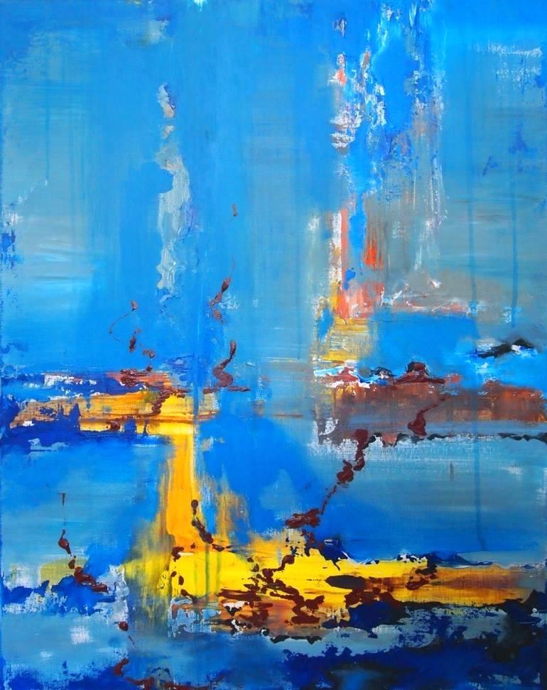 770x972 Coral Reef Paintings Art Artist Painting Coral Reef Art