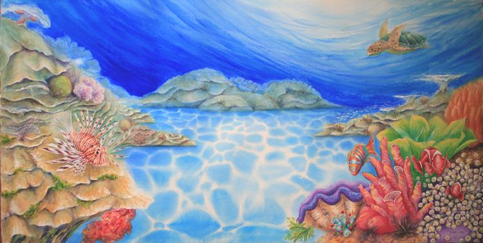 700x352 Image Result For Great Barrier Reef Art Art