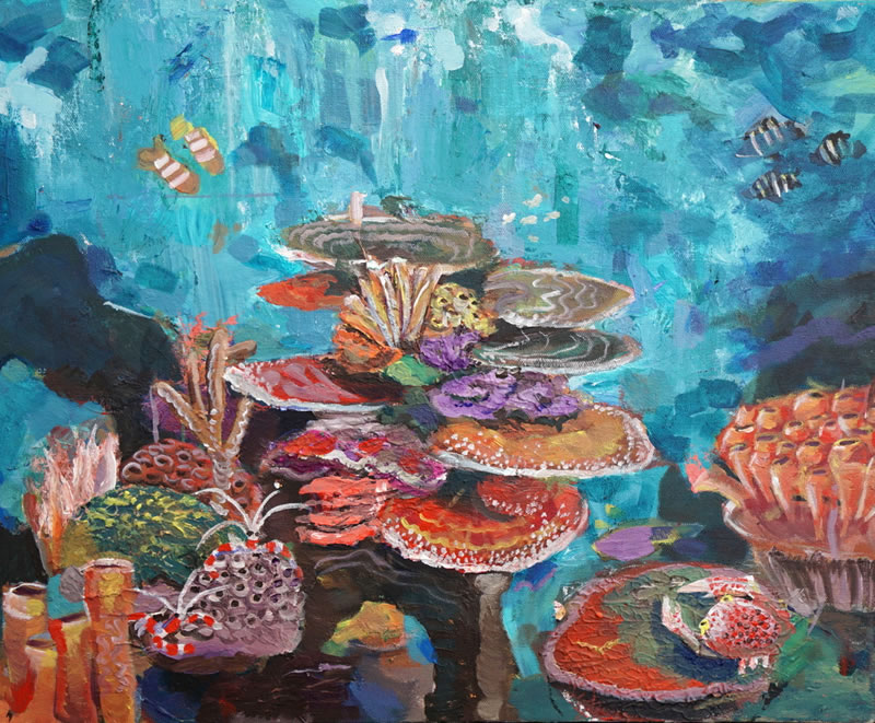 800x661 International Art Competition Inspired By Coral Reefs (Kslof