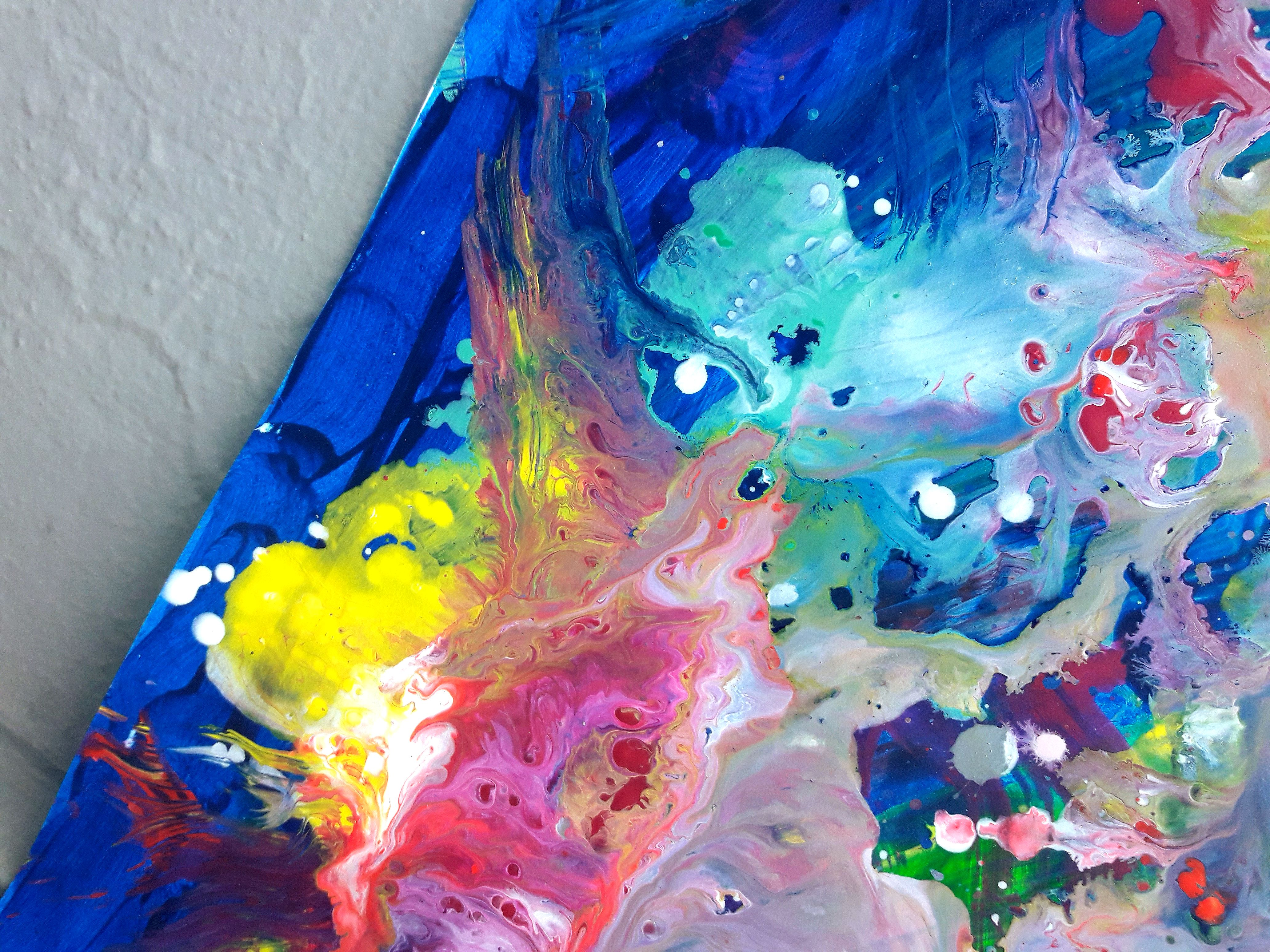 4128x3096 Our Dance Around The Coral Reefs Original Abstract Acrylic