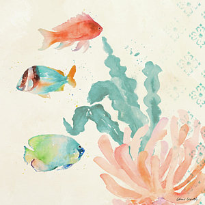 300x300 Tropical Fish Watercolor Paintings Fine Art America