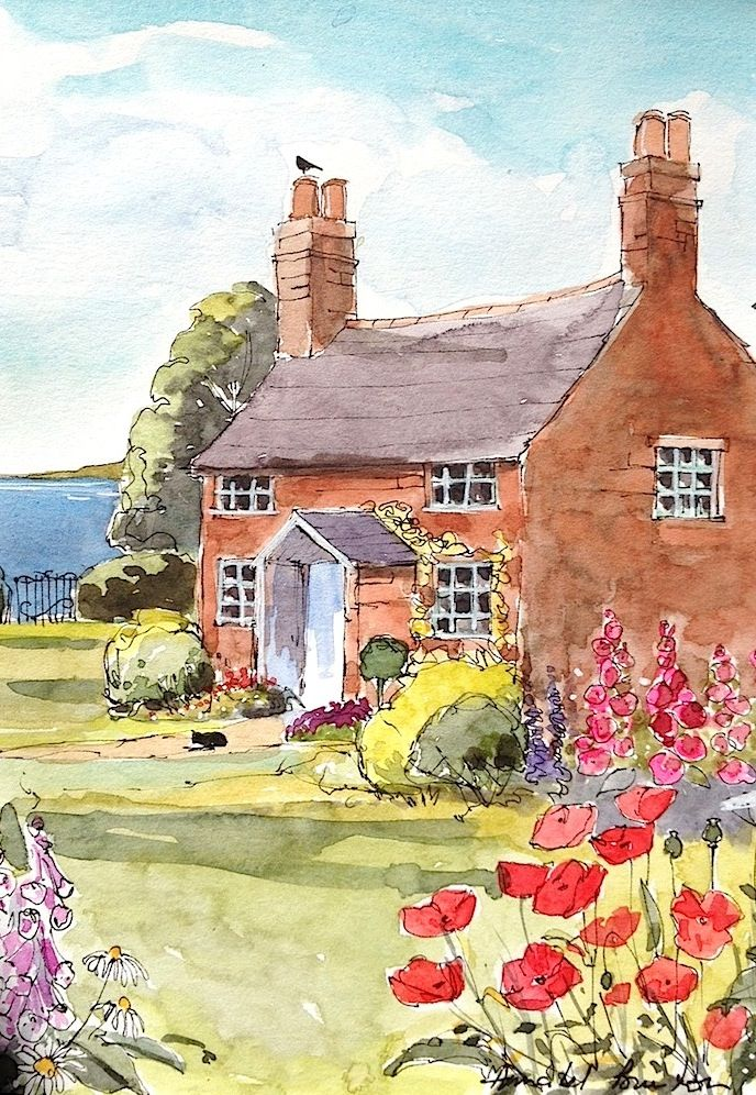 Cottage Watercolor