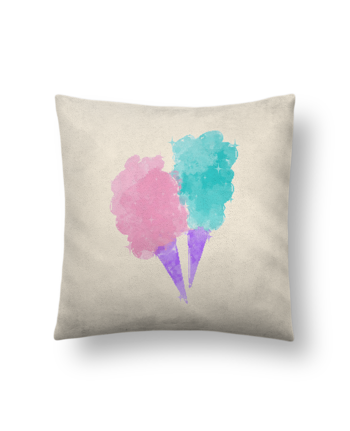 690x850 Coussin Toucher Peau De 41 X 41 Cm Watercolor Cotton Candy