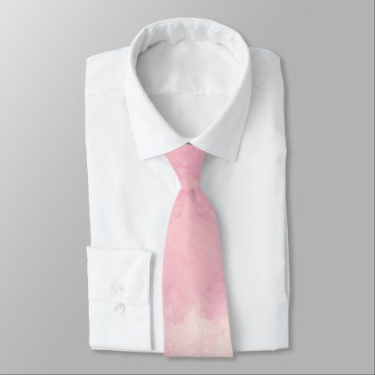 422x422 Pink Cotton Candy Watercolor Necktie Pink Cotton Candy, Cotton