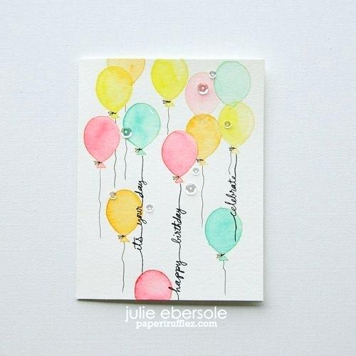 500x500 Best Of Watercolor Birthday Card And Cotton Candy Balloons A Bit