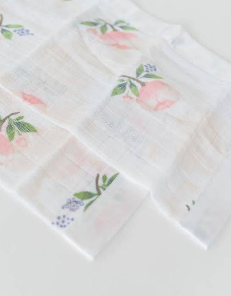 800x1024 Cotton Muslin Security Blanket 2 Pack