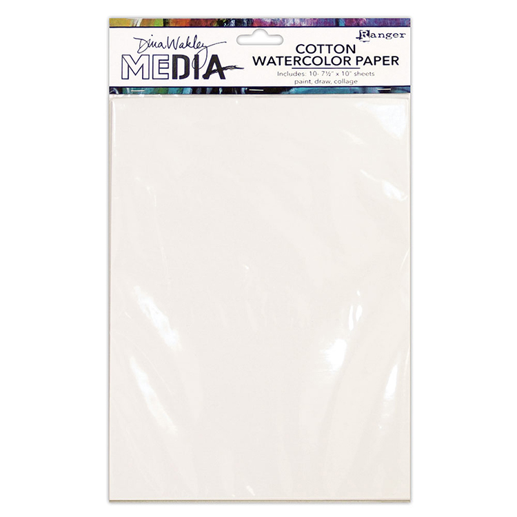 750x750 Ranger Ink Dina Wakely Media Cotton Watercolor Paper Pack