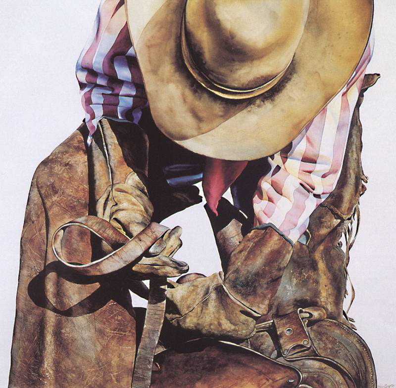 800x785 The Cowboy Watercolor Works Of American Painter Nelson Boren (4