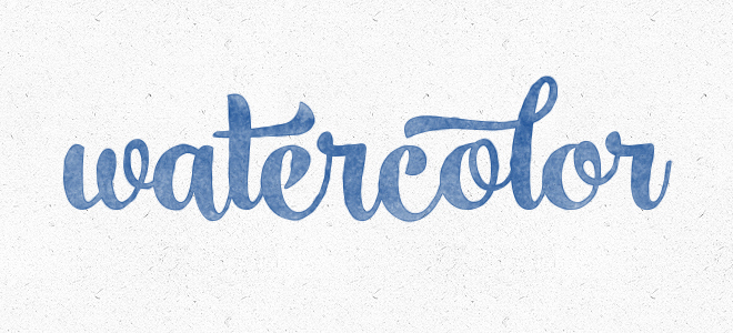 660x300 Create A Watercolor Text Effect In Photoshop Bluefaqs