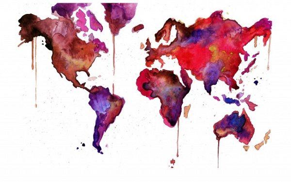 600x377 Watercolor Art Creates Dreamy Effect
