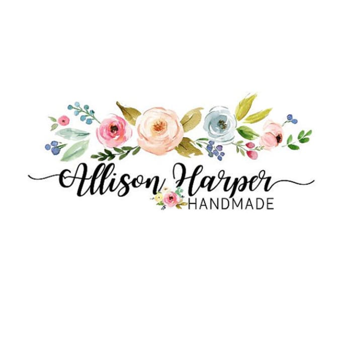 680x680 Create Amazing Watercolor Logo In Hand Drawn Style By Rachel24