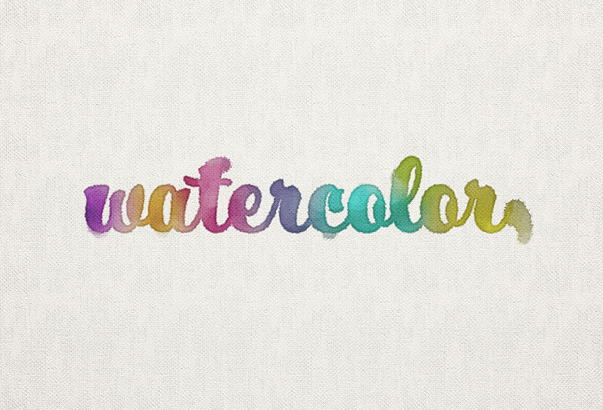 850x578 How To Create A Watercolor Inspired Text Effect In Adobe Photoshop