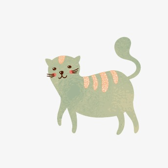 344x344 Kitty, Watercolor Cat, Cute Cat Png And Vector For Free Download