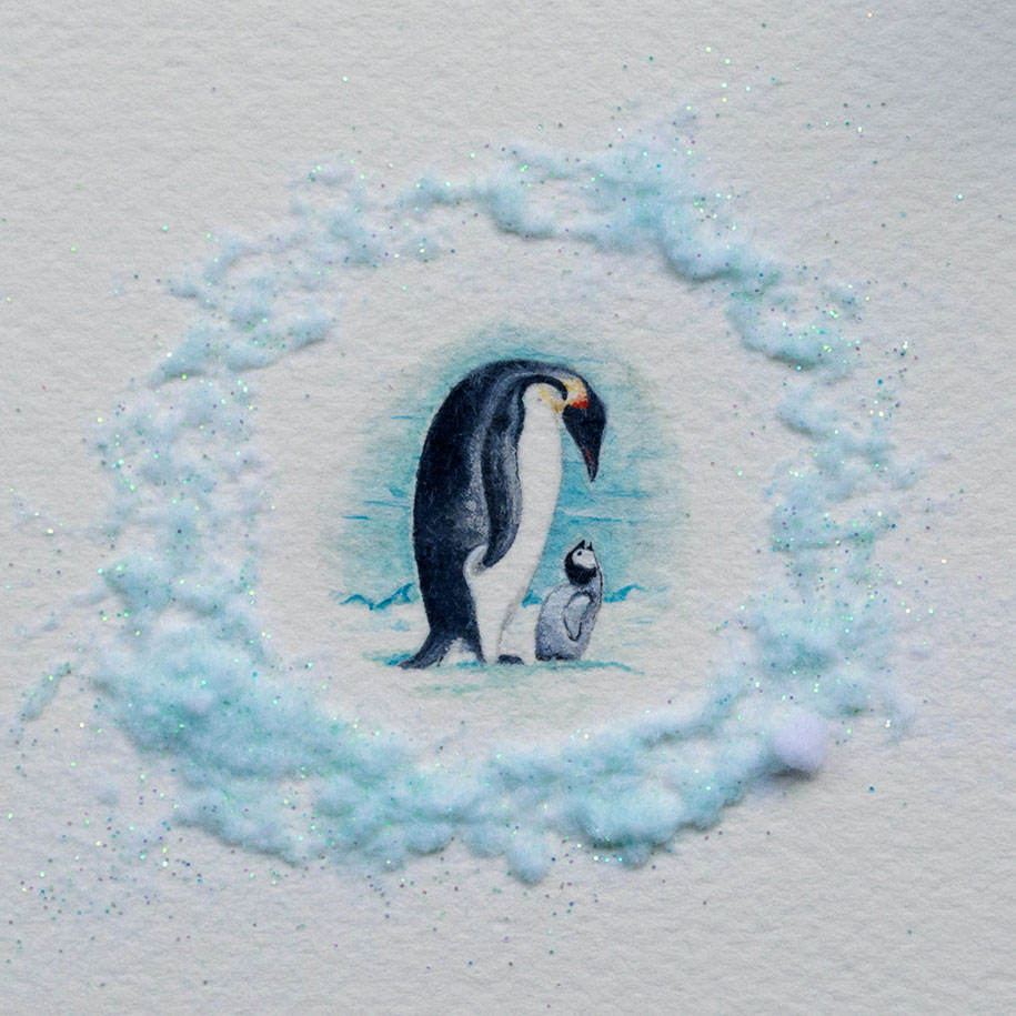 915x915 Adorable Miniatures By A 20 Year Old Watercolor Painter