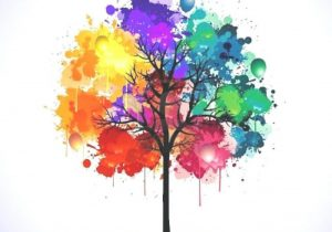 300x210 Water Color Painting Ideas Easy Watercolor Peacock Painting Idea