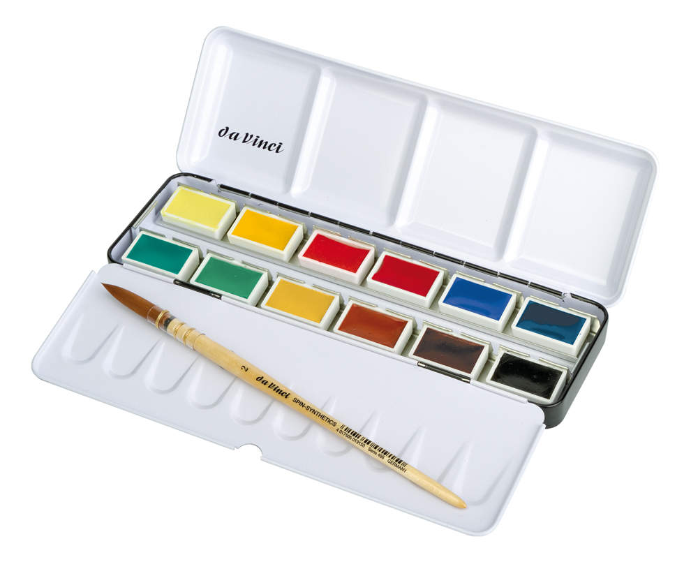 990x805 Water Colour Brushes Amp Water Colours Brush Test Set